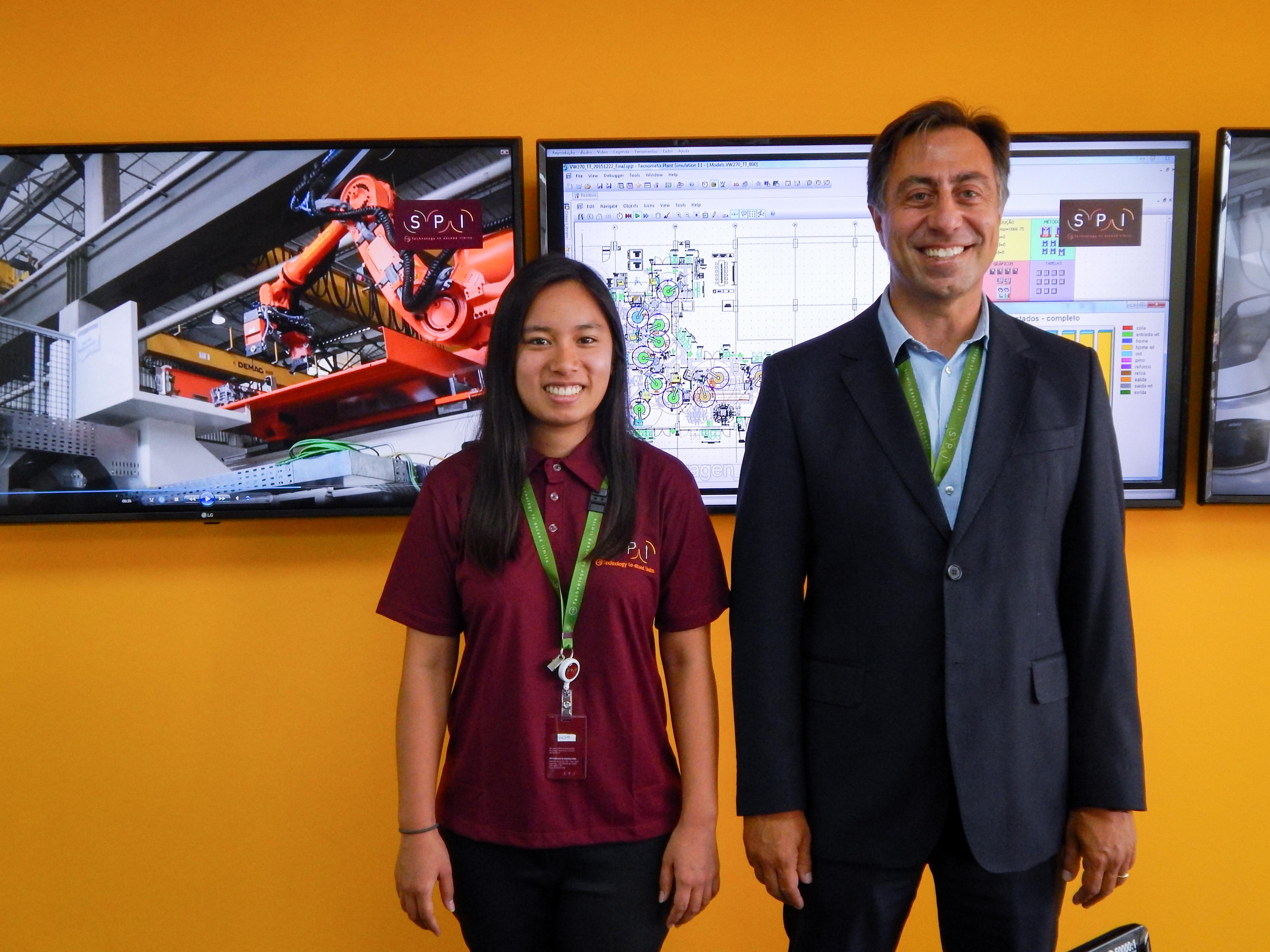 SPI's first MIT Engineering intern