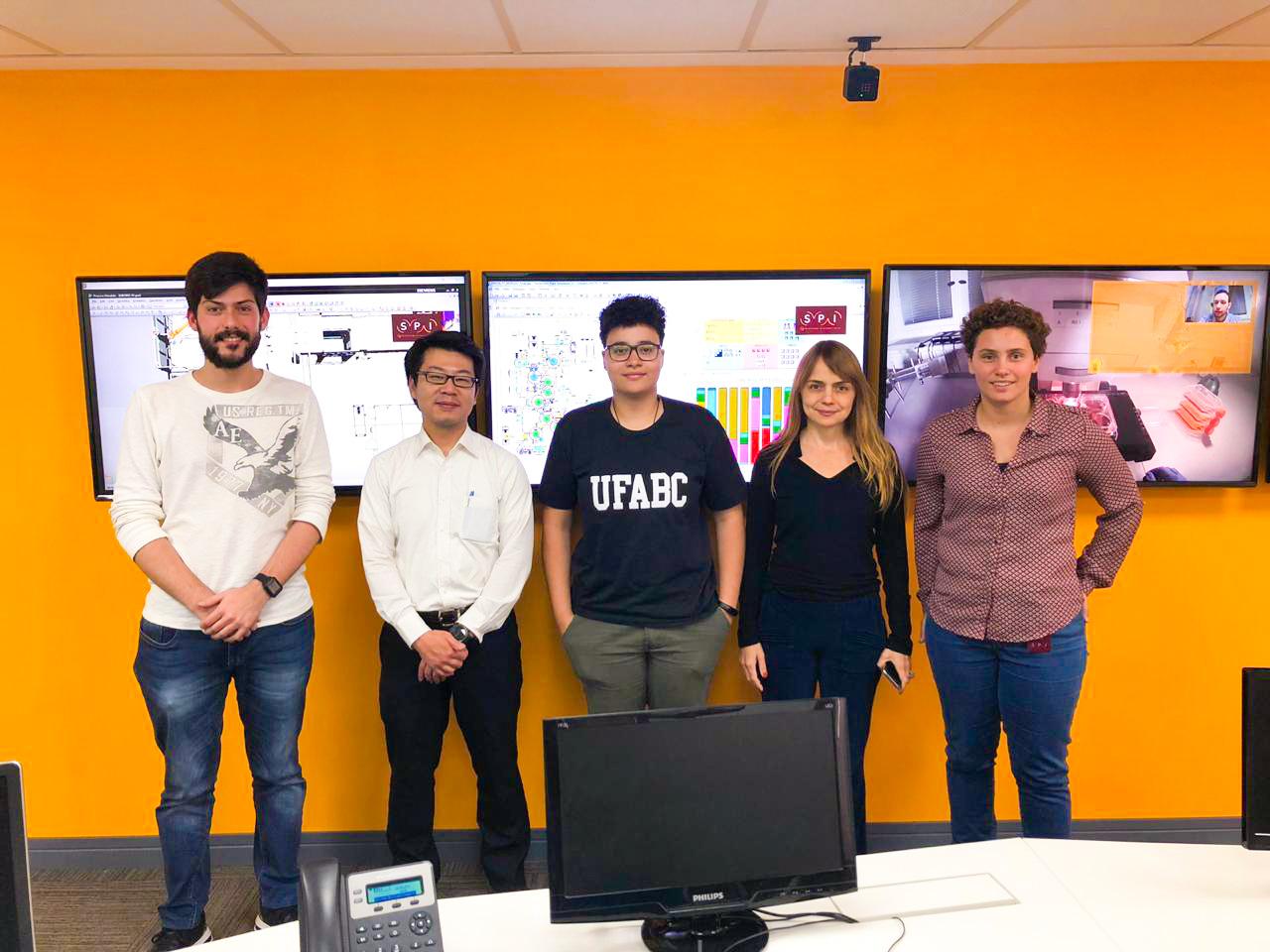 Visita da UFABC