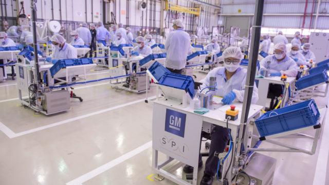SPI é fornecedora de equipamento para produção de máscaras na General Motors