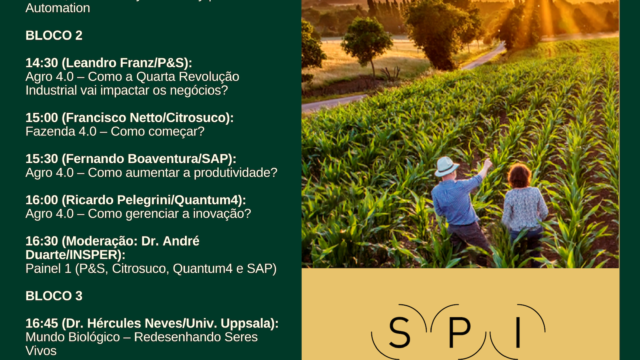 Workshop Frontier Talks: Agro 4.0 – Inscrições Abertas!