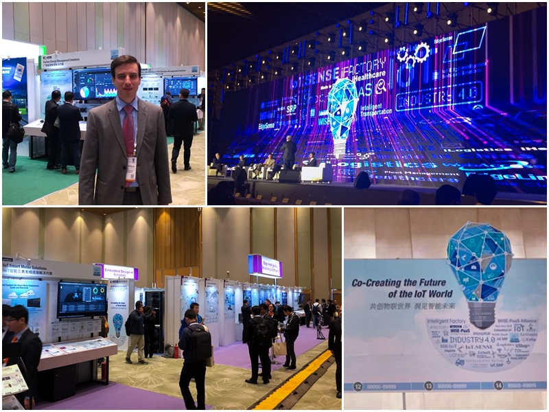 Advantech IoT Co-Creation Summit event in Suzhou, China.