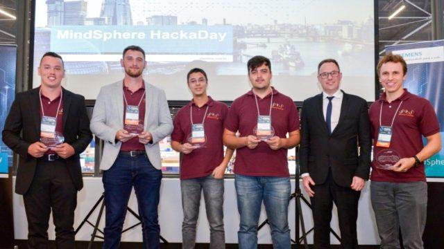 SPI team wins 1st Siemens MindSphere HackaDay!