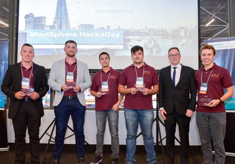 Time da SPI vence 1º MindSphere HackaDay da Siemens!