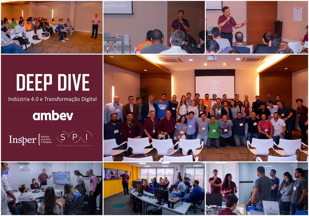 Deep Dive de Indústria 4.0 – INSPER & AMBEV na SPI